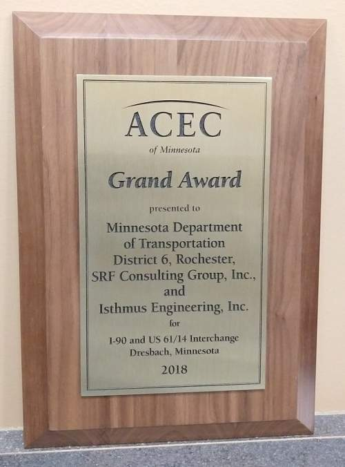 Isthmus Projects Recognized at ACEC/MN Engineering Excellence Awards Program