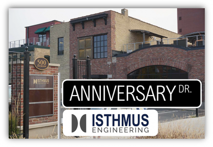 Isthmus November Work Anniversaries